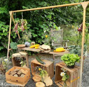 Producten uit de tuin van het Witte Kasteel