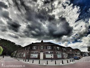 Wolkenluchten boven Loon