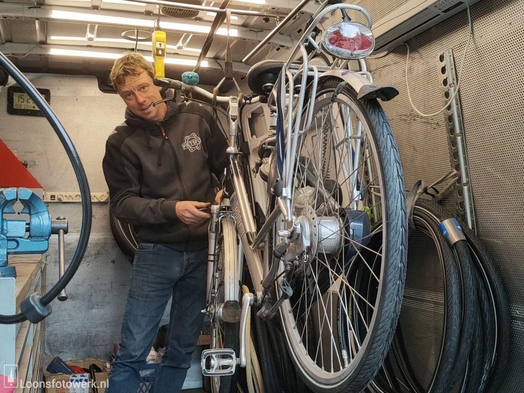 Toby, de vliegende fietsenmaker