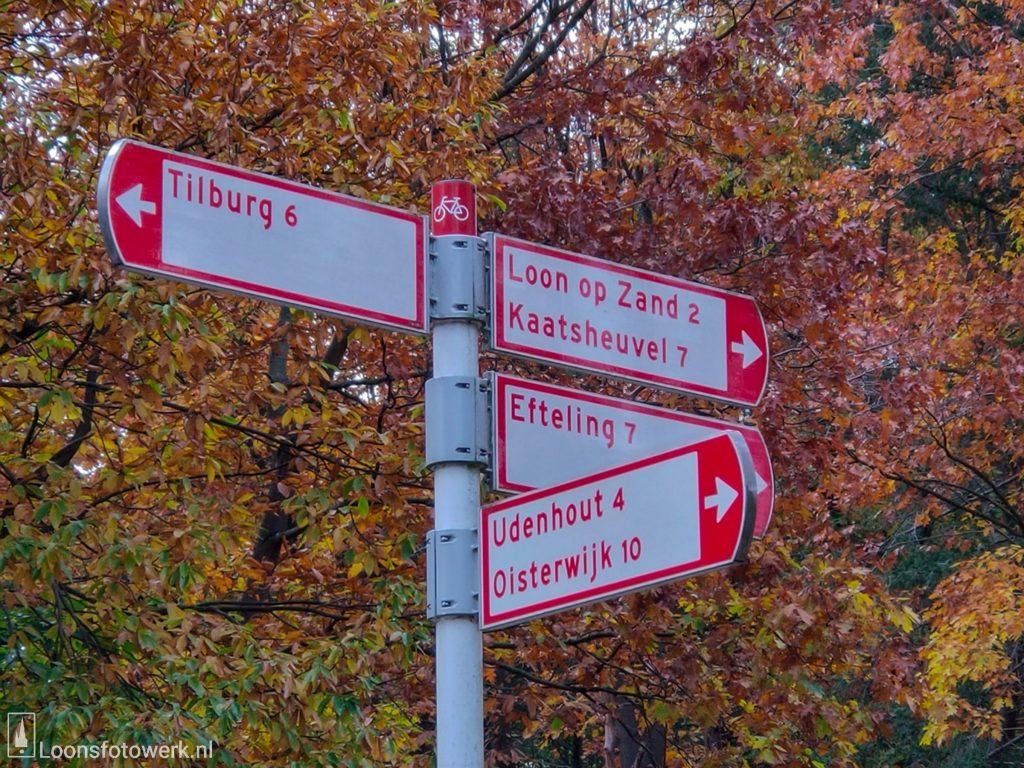 De oude weg naar Tilburg