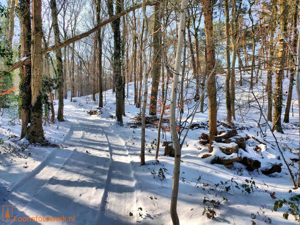 Bergstraat - Bergen in de sneeuw
