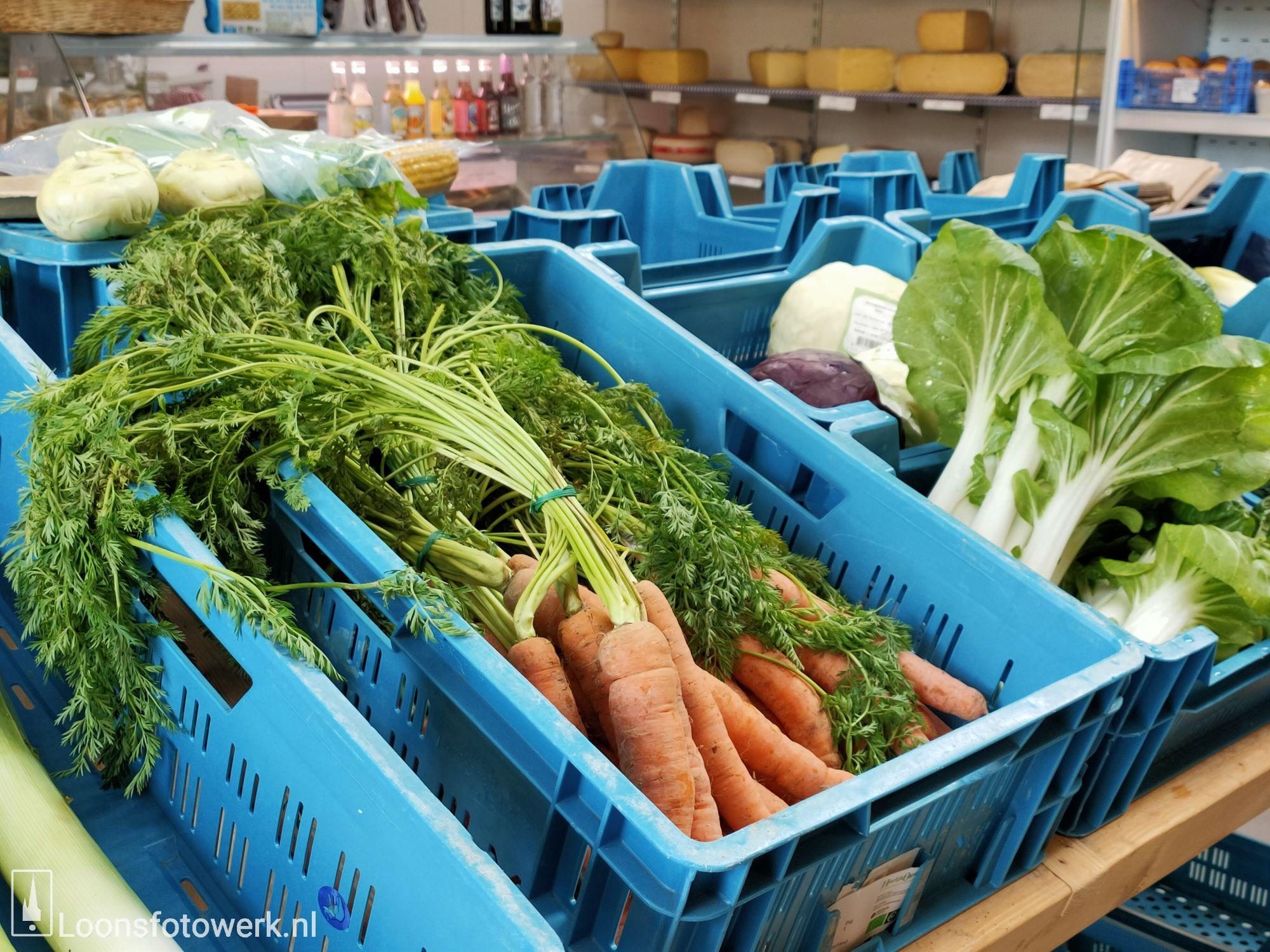 Sprankenhof, biologische groente- en fruitwinkel