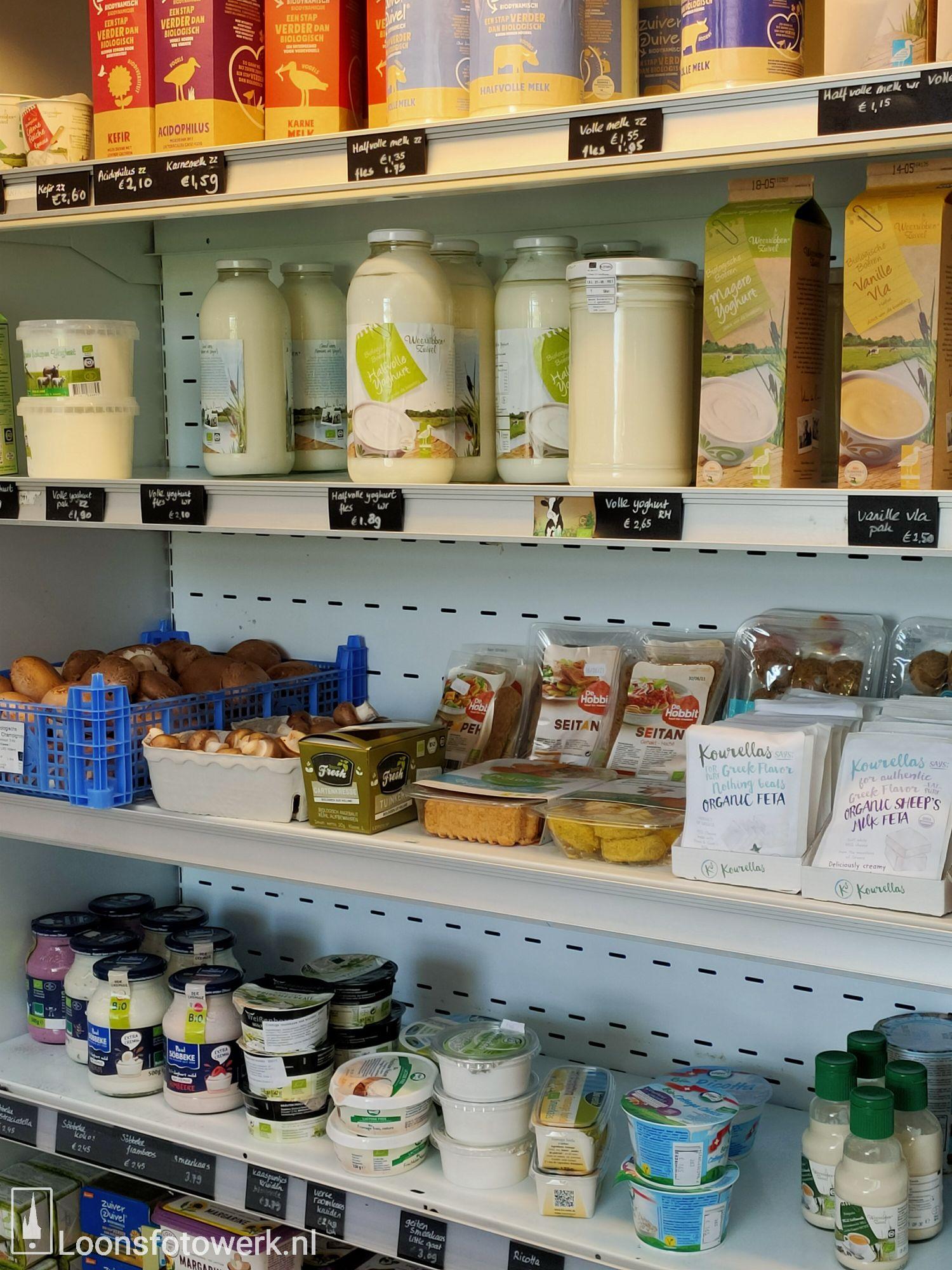 Sprankenhof, biologische groente- en fruitwinkel 27