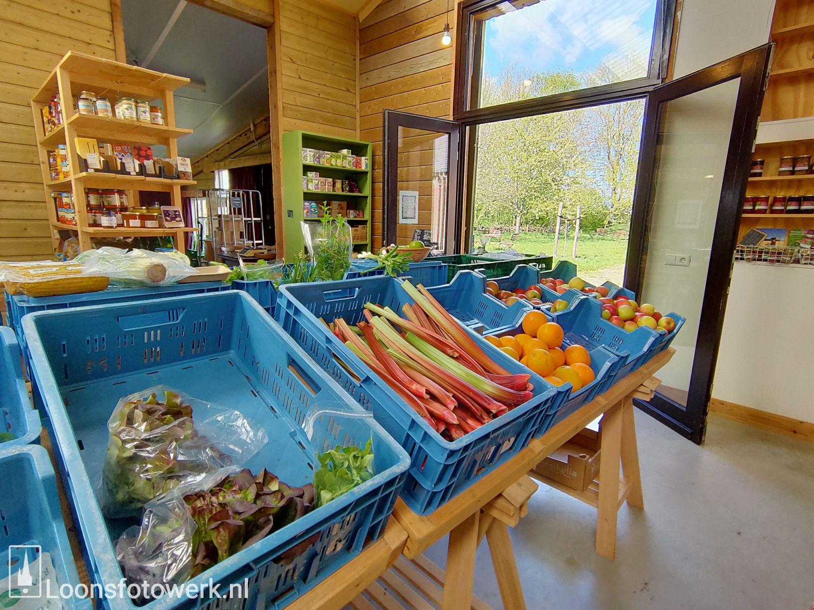 Sprankenhof, biologische groente- en fruitwinkel 30
