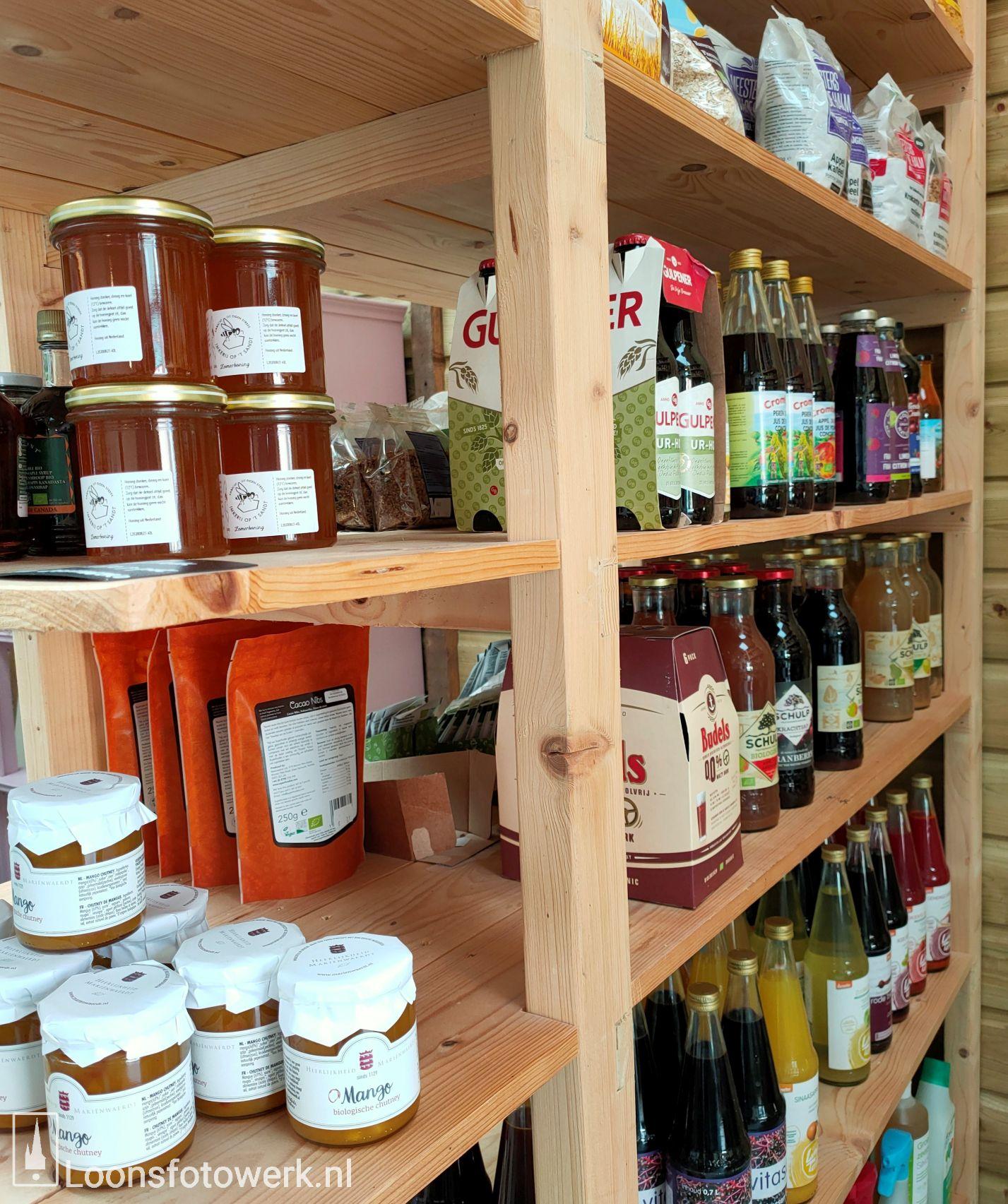 Sprankenhof, biologische groente- en fruitwinkel 32