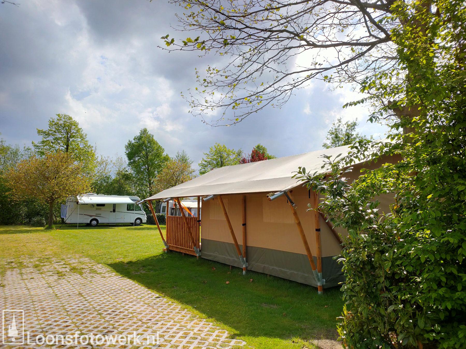 Luxe kamers en tenten bij De Zwammenberg 67
