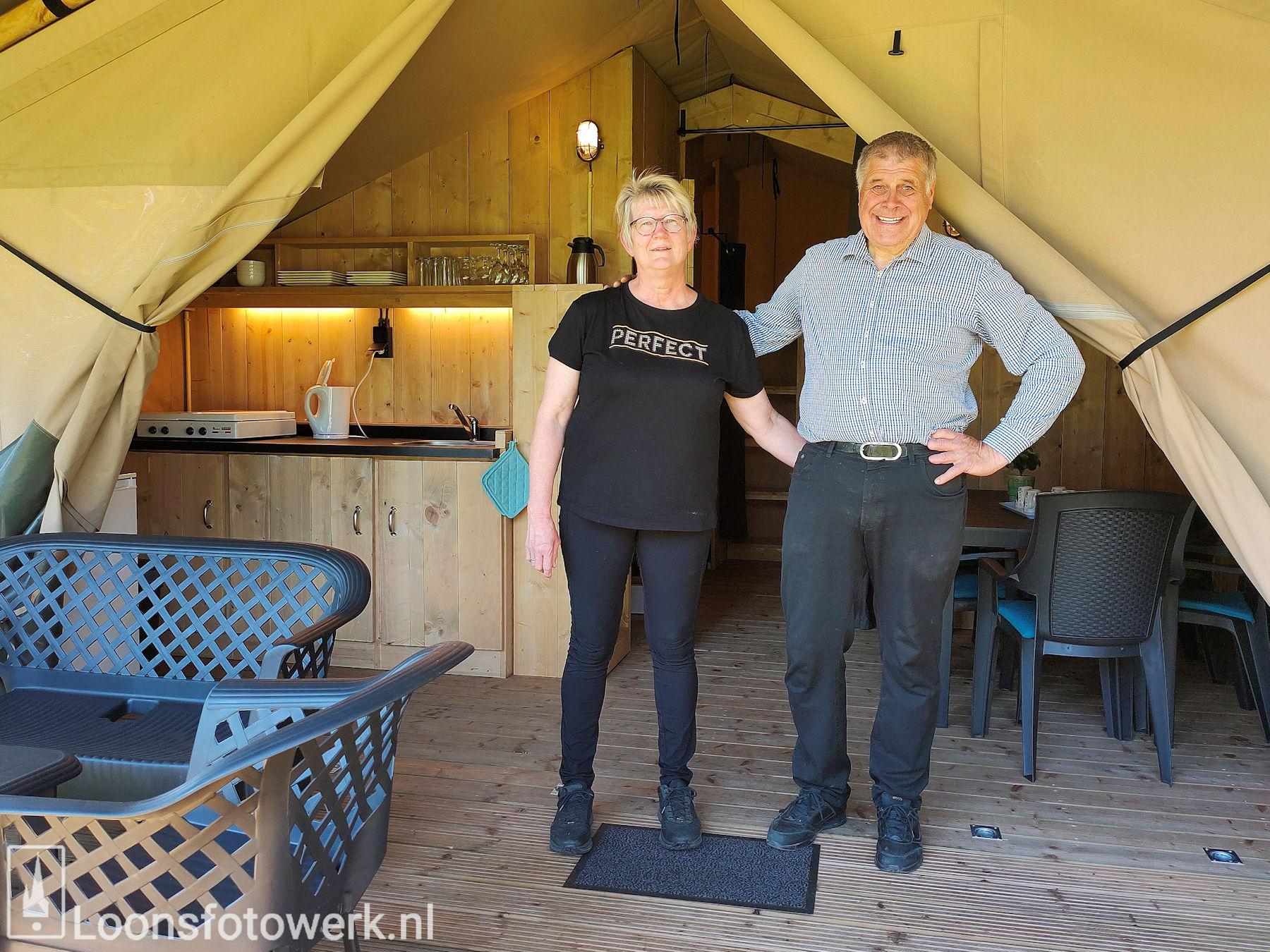 Luxe tenten De Zwammenberg
