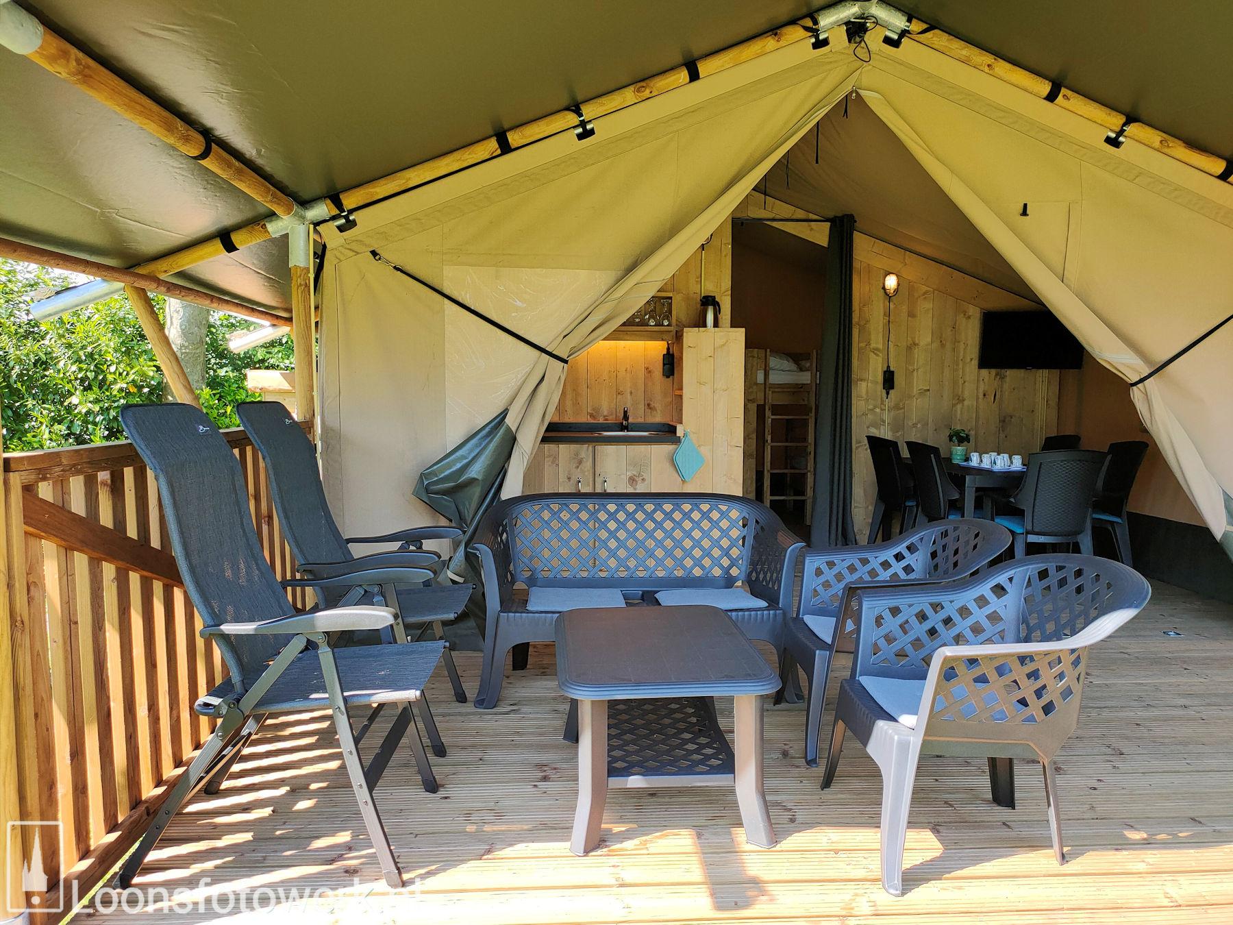 Luxe kamers en tenten bij De Zwammenberg 69