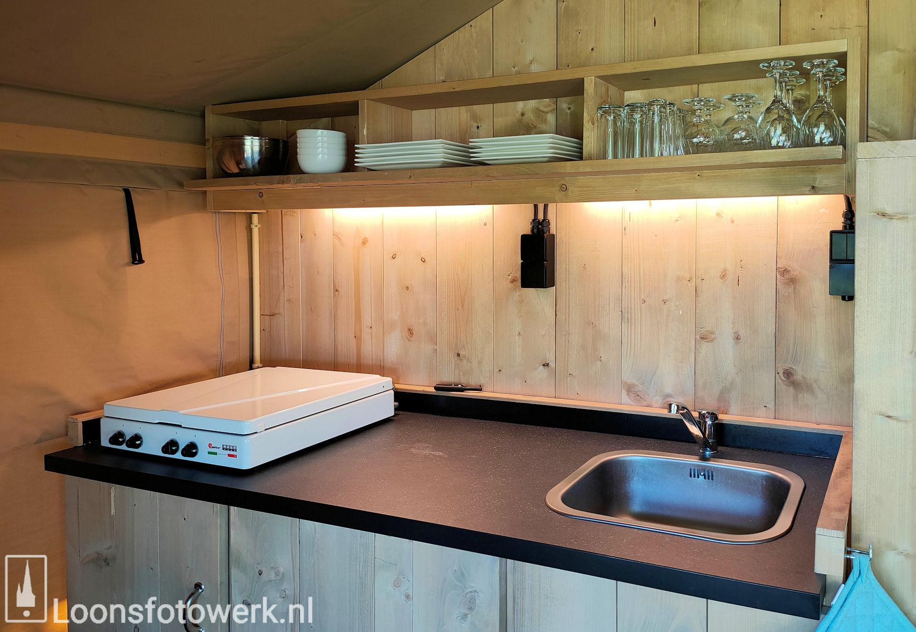 Luxe kamers en tenten bij De Zwammenberg 71