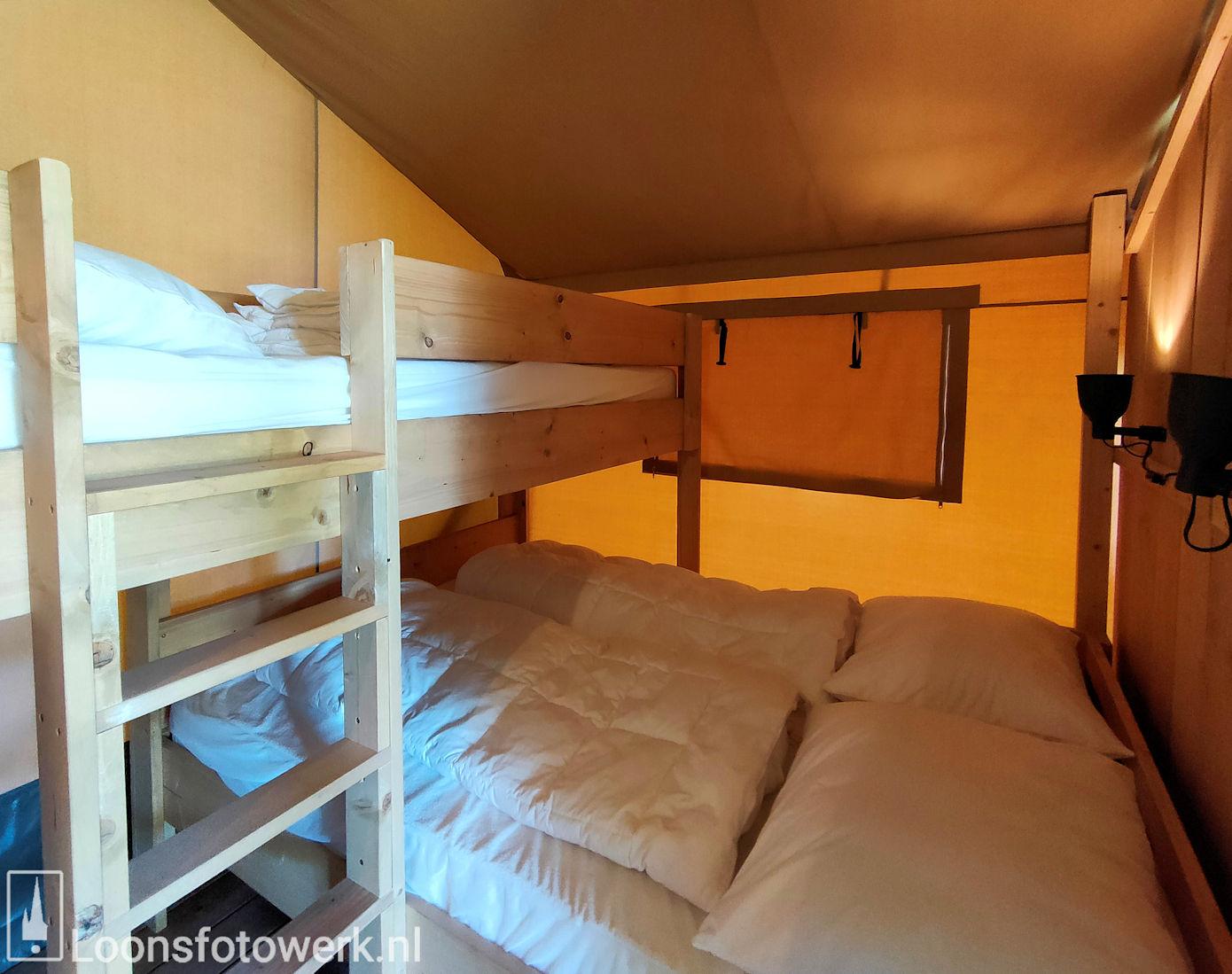 Luxe kamers en tenten bij De Zwammenberg 79