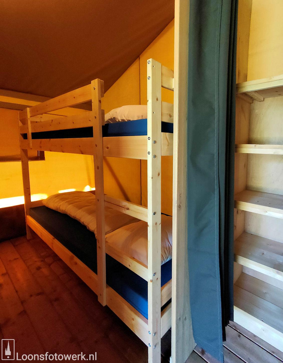 Luxe kamers en tenten bij De Zwammenberg 80