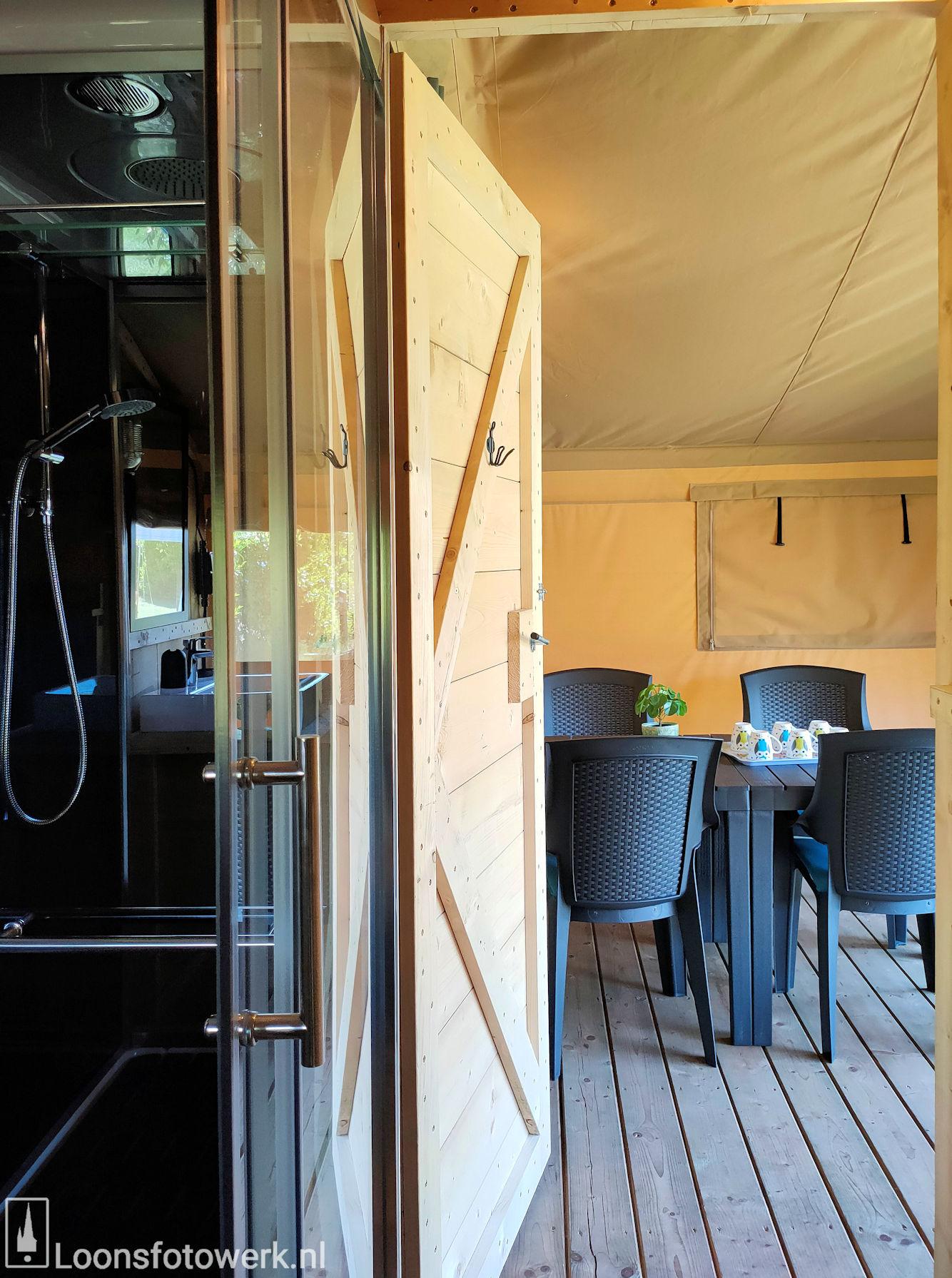 Luxe kamers en tenten bij De Zwammenberg 84