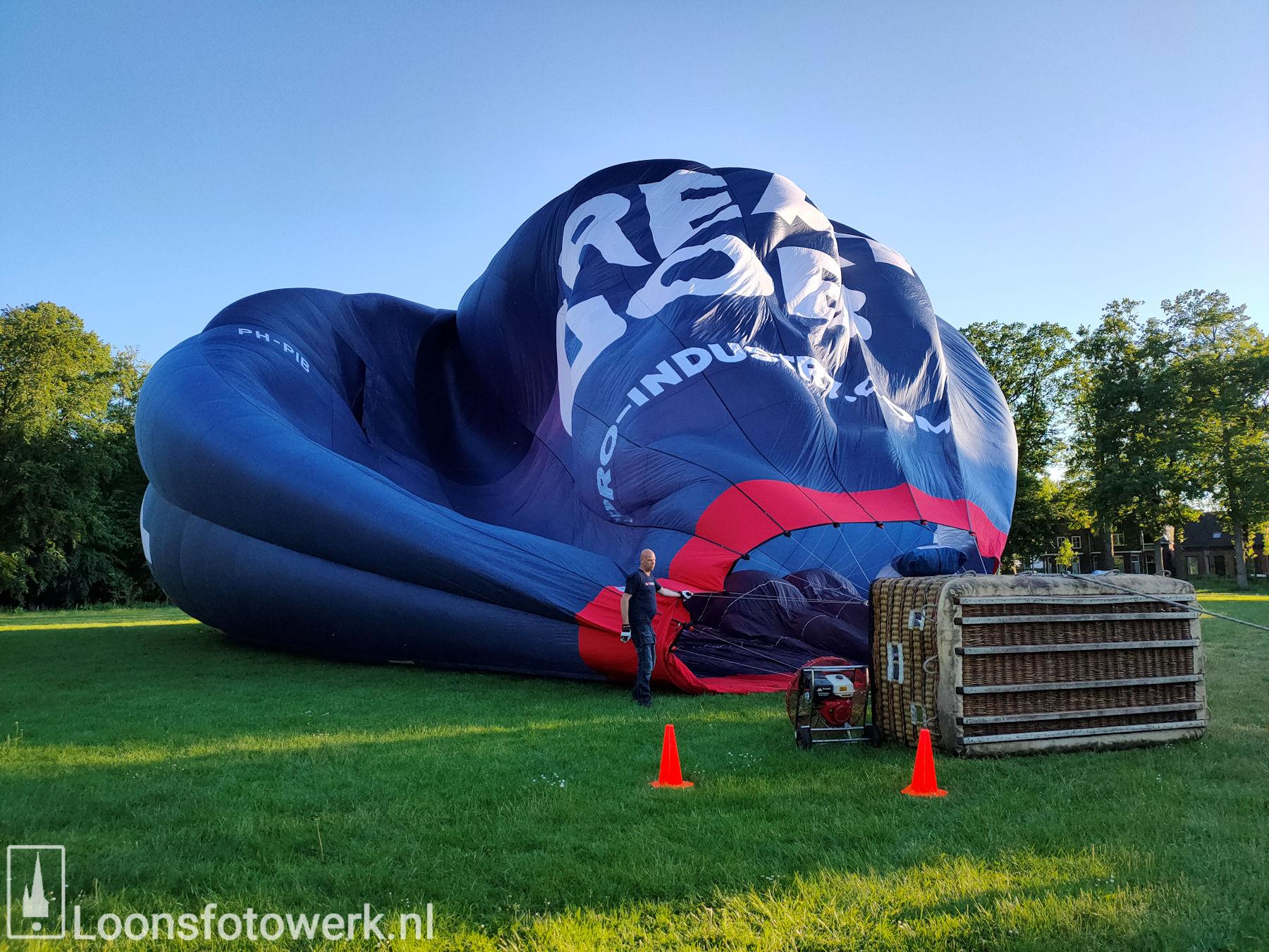 Ballonvaart vanaf de Kasteelweide 2