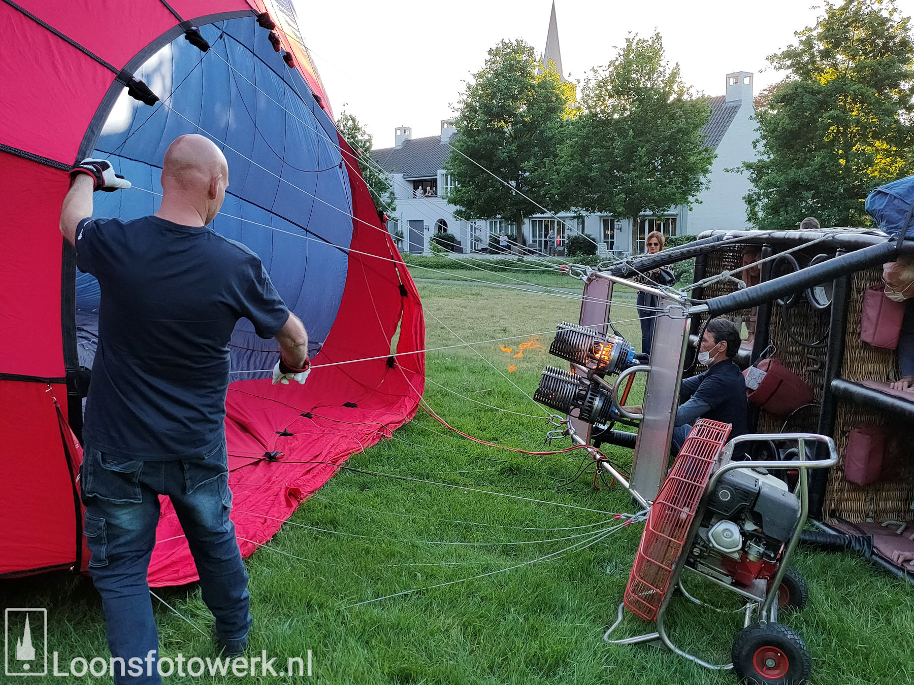 Ballonvaart vanaf de Kasteelweide 17