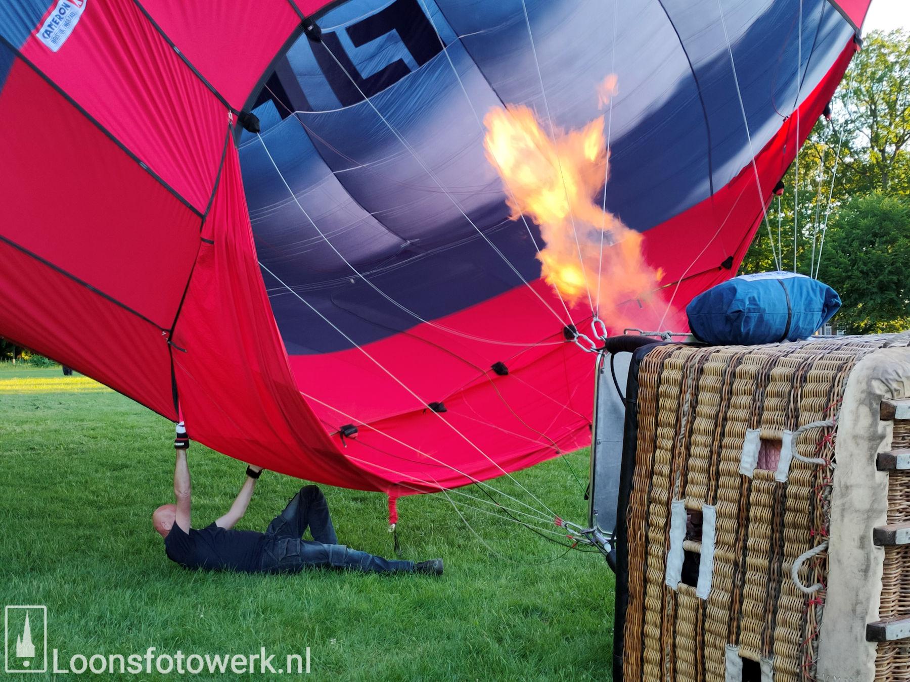 Ballonvaart vanaf de Kasteelweide 21