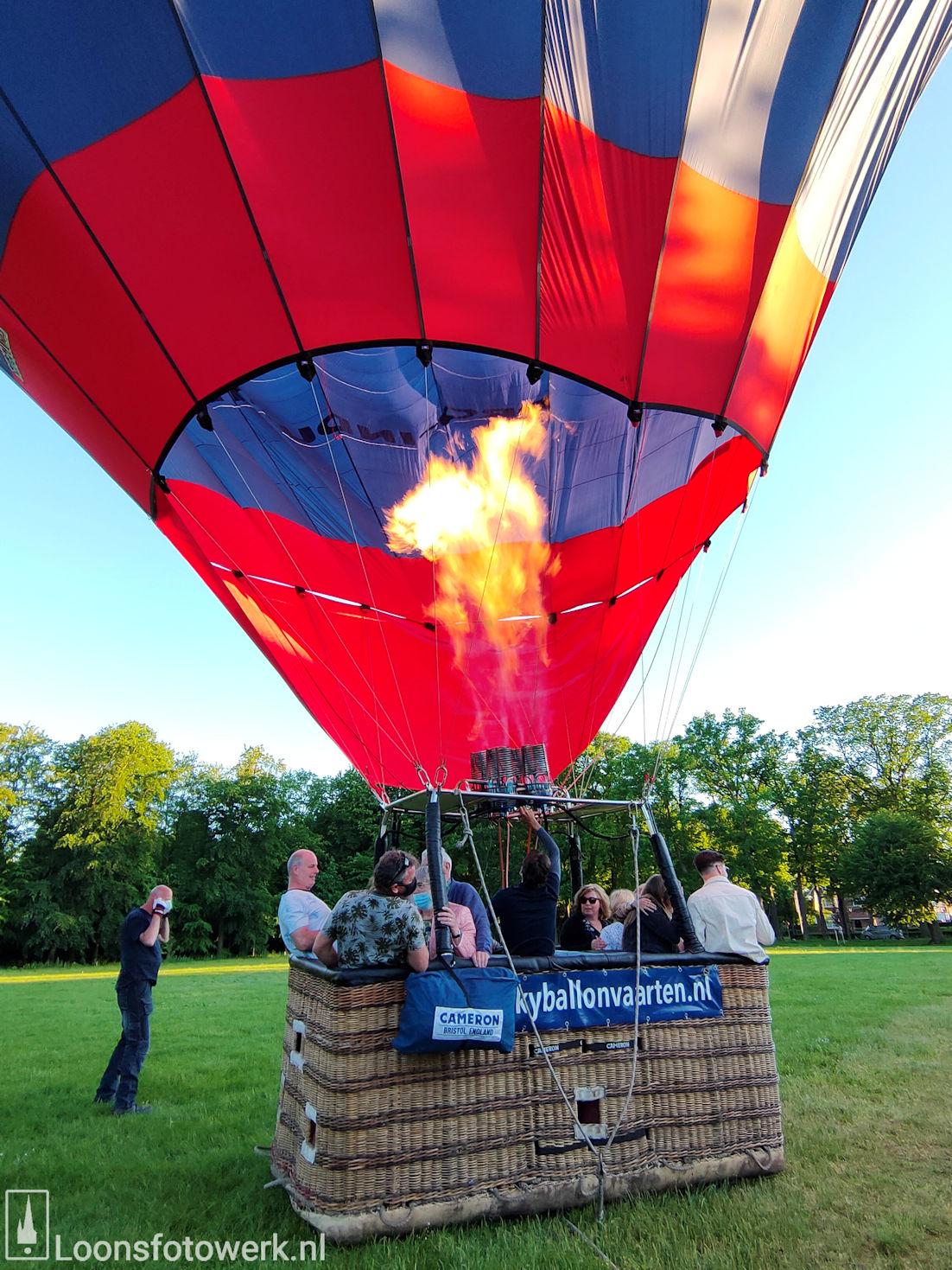 Ballonvaart vanaf de Kasteelweide 24