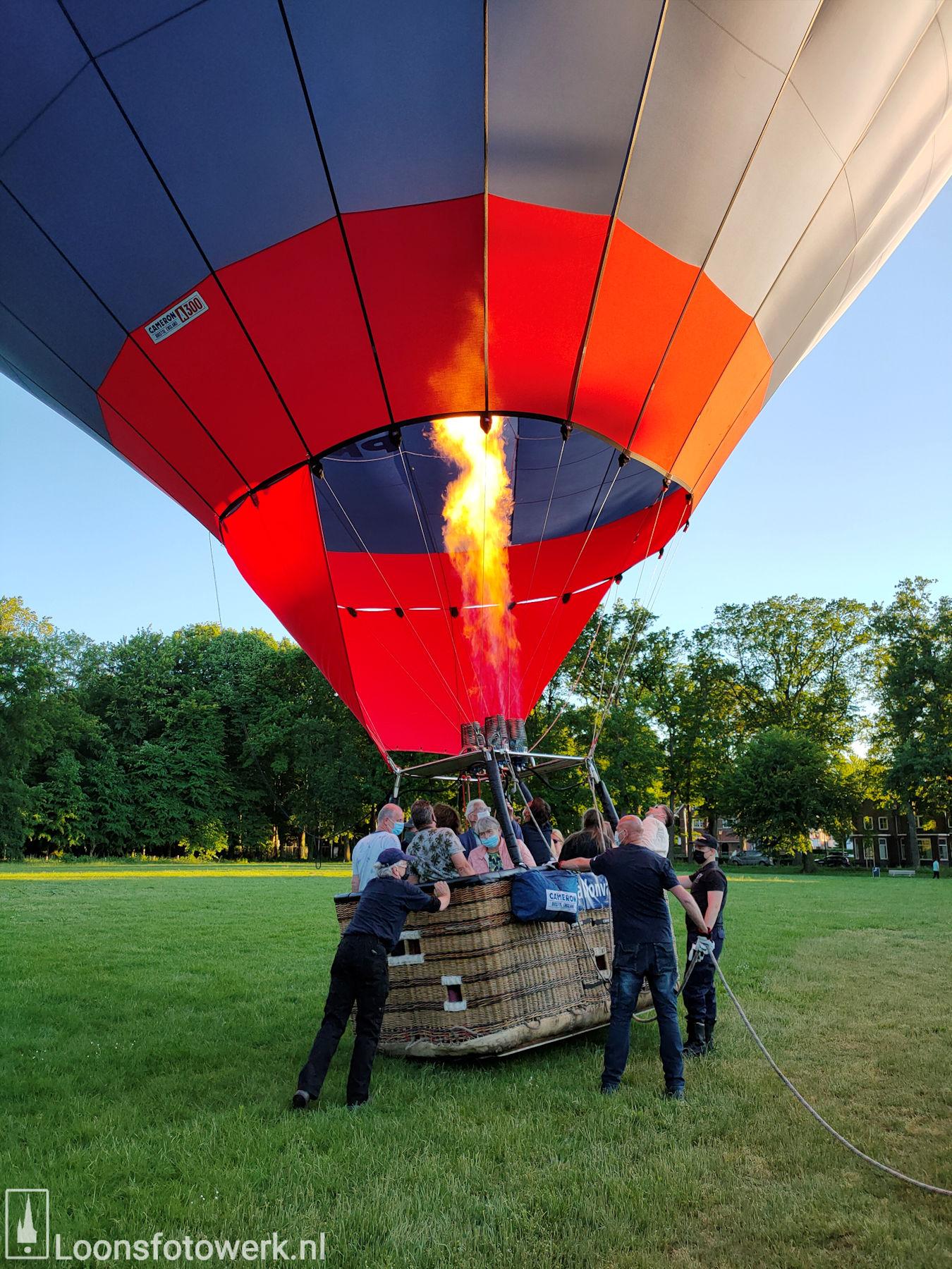 Ballonvaart vanaf de Kasteelweide 26