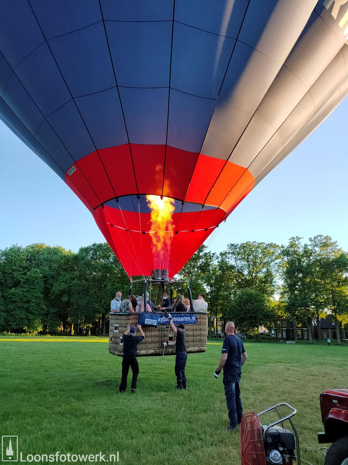 Ballonvaart vanaf de Kasteelweide 27