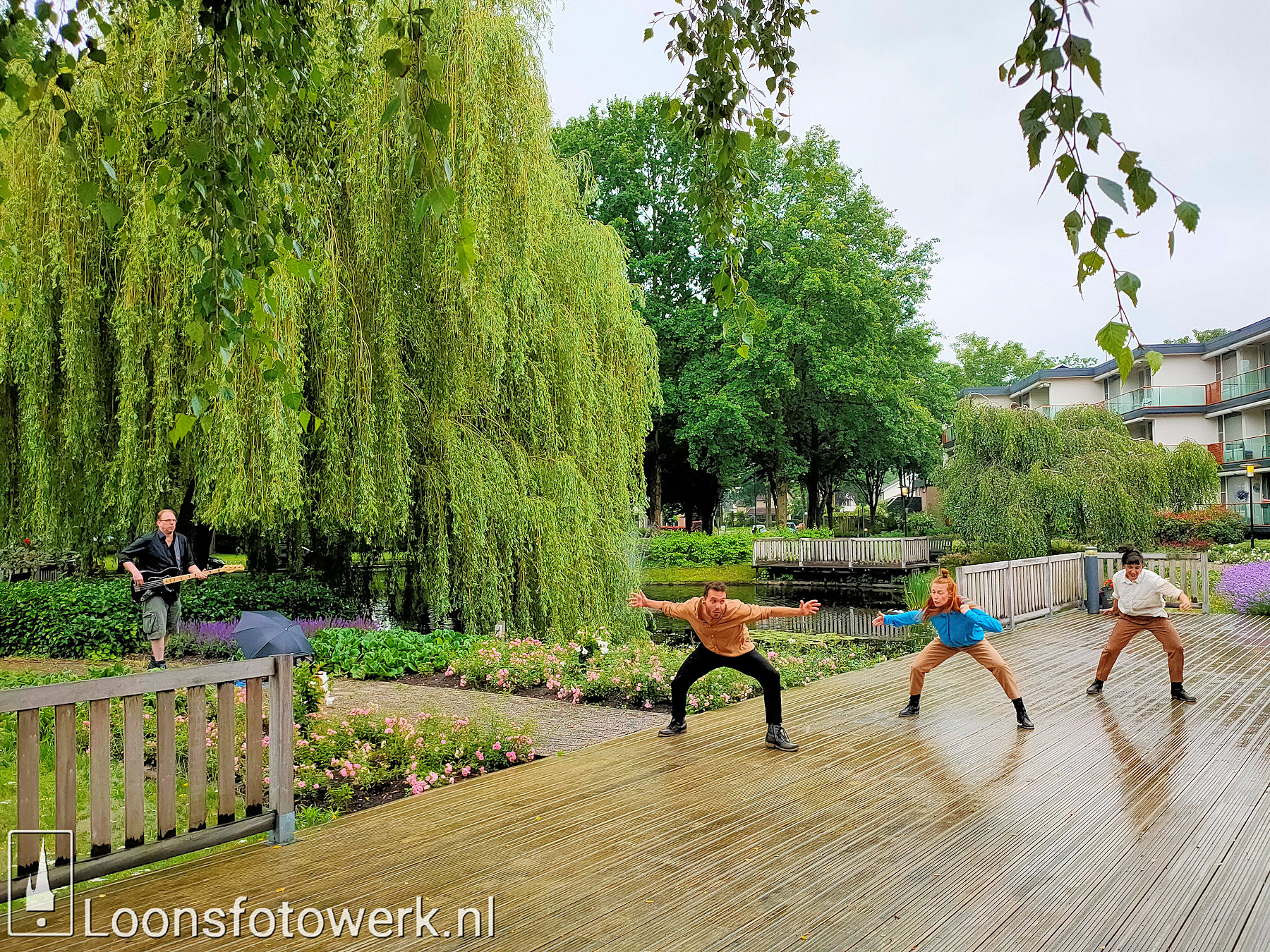 Dansnest danst voor Jan Bernard Koolen 48