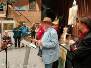 Expositie kunstwerken voor veiling De Wetering